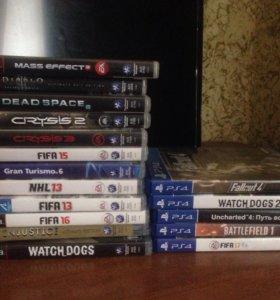 Диски PlayStation 3 4