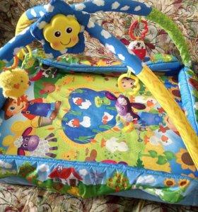 Развивающий коврик Playgro Веселая ферма