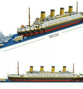 Лего Титаник 1860 шт !