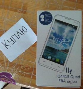 Телефон флай iq4415 Quad