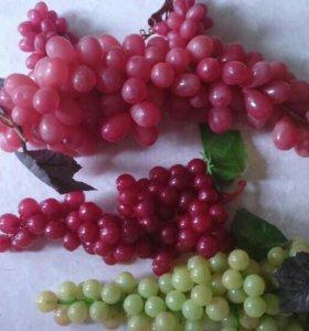 Искусственные ветви винограда