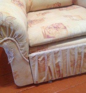 Раздвижное кресло