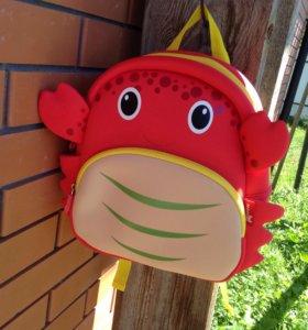 Детский рюкзак Краб