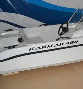 Моторно-весельная лодка КАЙМАН 400