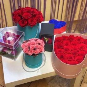 Неувядающие розы с Эквадора
