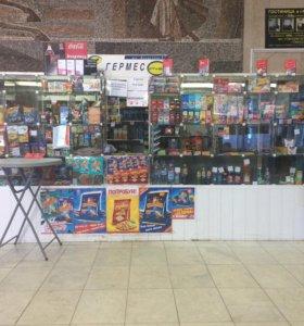 Продаётся продуктовый киоск