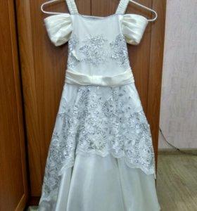 Платье выпускное в детском саду.