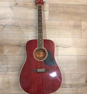 Акустическая гитара Crafter фирменным чехлом