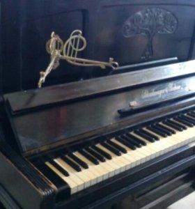 Пианино черное schiedmayer & soehne stuttgart