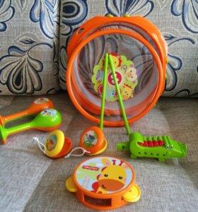 Игрушки набор музыкальных инструментов