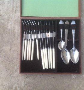 Набор 60х годов столовый ложки вилки ножы