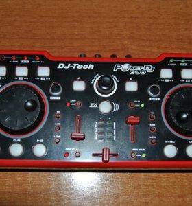 DJ контроллер DJ-Tech Pocket DJ-Duo новый