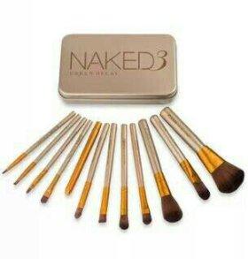 Набор кистей Naked новый.