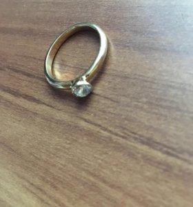 Кольцо с алмазиком