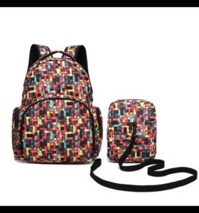 Рюкзак для мам и малыша