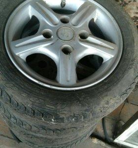 колеса на литье
