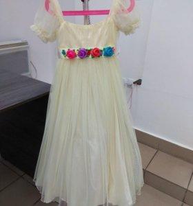 Платье для принцессы (р. 6 лет) отс