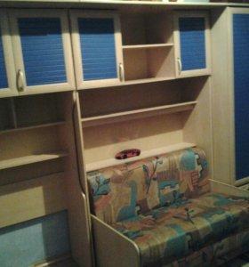 Детскую комнату с кроватью.