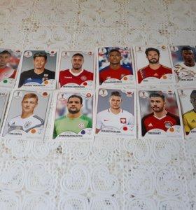Карточки Чемпионата Мира 2018 (PANINI)