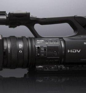 Профессиональная видеокамера Sony HDR-FX1000E HD