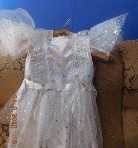 Платье-снежинка