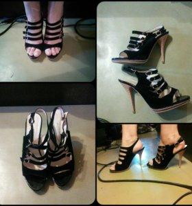 Босоножки 40 размер, туфли 38