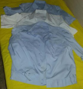 Рубашки полицейские новые