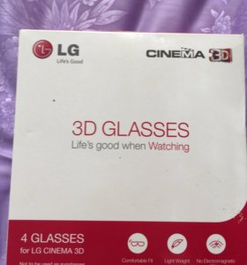 3D очки для телевизора LG