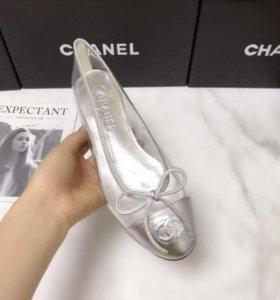 Новые балетки chanel 38