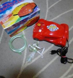 Ингалятор AMNB-503 компрессорный детский машинка
