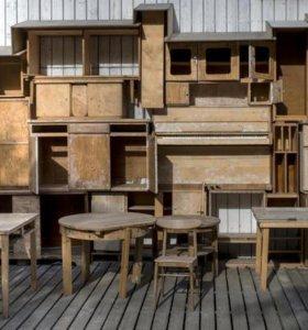 Демонтаж старой мебели. Только г.Голицыно