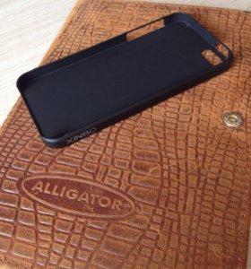Бампер и Чехол силиконовый для iPhone 5(5s)