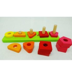 Новые деревянные игрушки