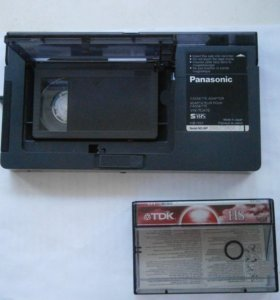 Panasonic cassette adaptor VHS-C