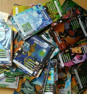 Карточки черепашки ниндзя 228 штук