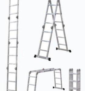 Лестница трансформер 4х4 Новая