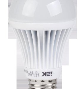 Лампа светодиодная A60 шар 11Вт 3000К E27 IEK