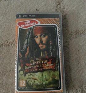 Игра Пираты Карибского моря на PlayStationPortable