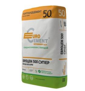 Цемент Д0 EuroCem 500 Super ЦЕМ I 42.5H EuroCement