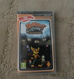 Игра Ratchet & Clank на PlayStation Portable