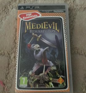 Игра MediEvil на PlayStation Portable