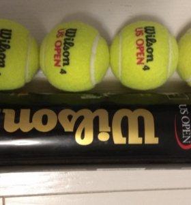 Мячи для тенниса Wilson. Новые