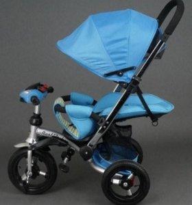 Велосипед-коляска Best Trike 698 с опуск спинка