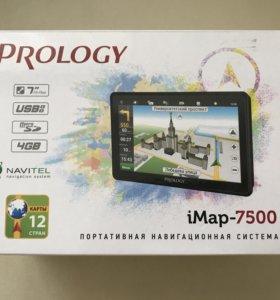 Портативный GPS навигатор Prology iMap-7500