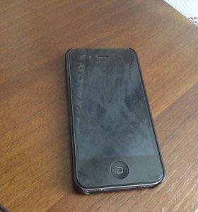 iPhone 4 на 32 gb, в хорошем состоянии