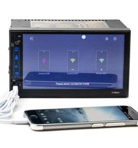 Автомагнитола 2DIN Андроид 6.1 с GPS НОВАЯ!!!