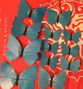 Украшение на шторы/тюли...Бабочки»
