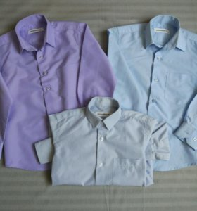 Рубашки для мальчика 3 шт.