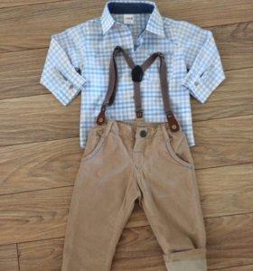 Комплект рубашка и брюки