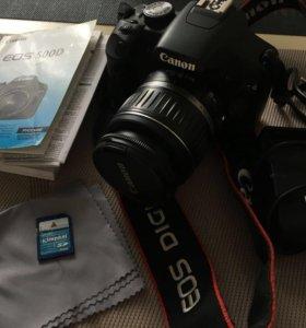 Фотоаппарат Canon 500D kit18-55